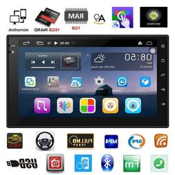 """1 Din 7"""" GPS Navigation Car Stereo Audio DVD Player In Dash"""