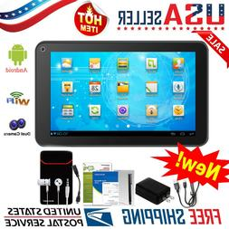 "10.1'' 9"" 7"" Inch Tablet PC Android Quad Core 16GB/8GB HD WI"