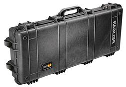 1700 Long Hard Case Blk W/Foam 35.75x13.5x5.25 3-Piece Solid