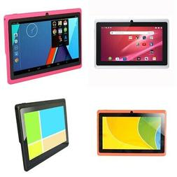 1X(7 Inch Kids Tablet Android Quad Core Dual Camera WiFi Edu