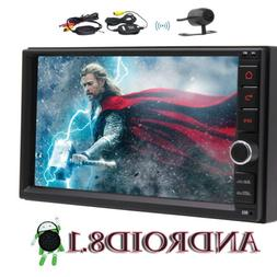 2 Din 7 Inch Android 8.1 Universal Car Radio Double Din Ster