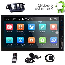 """Eincar 2-DIN Car Stereo 7"""" Touch Screen with Built-in HD Rad"""