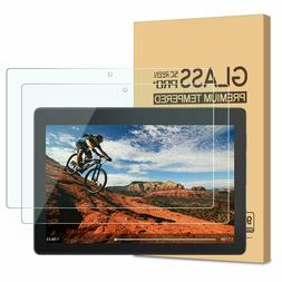 "2 Packs Glass Screen protector For Lenovo Tab 10"", 8"", 7 inc"