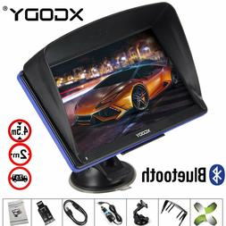 "2017 XGODY 7"" Portable Car GPS Navigation Capacitive Screen"