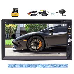 2018 Eincar Newest Model 7 inch Double Din in Dash Car DVD P