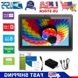 "2019 KOCASO 7"" Inch Android Tablet PC Quad Core 8GB HD Dual"