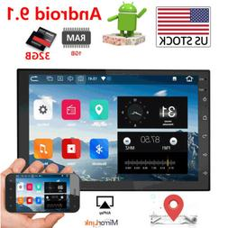 32GB 7 Inch Android 9.1 Double 2 Din Car Stereo GPS NAVI Tou