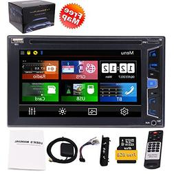 Eincar 6.2 inch 5 Points Capacitive Multimedia Touch Screen
