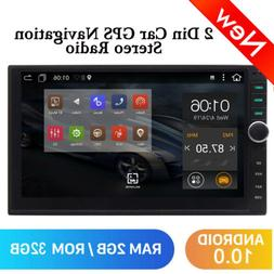Double 2 Din 7 inch Car Radio Player Android 10.0 GPS Navi B
