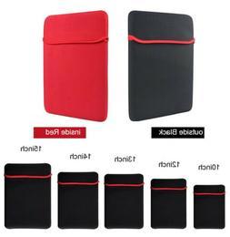 "7""-17"" Inch Soft Neoprene Sleeve Pouch Bag Case For Tablet L"
