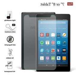"7"" / 8 inch Universal Tempered Glass Screen Protector For Ta"