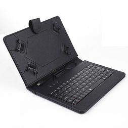 For 7'' 8'' inch Android Tablet Stand PU Leather Case Cover