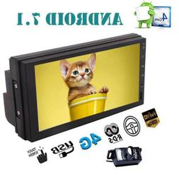 """7"""" Double 2 din Android 7.1 Gps Stereo Quad Core No-DVD Car"""