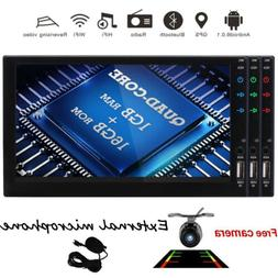 """7"""" Double  Din Android 6.0 Gps Stereo No-DVD Car Radio BT Wi"""