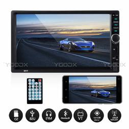 7inch Touch Screen Car Stereo MP5 Player Bluetooth FM Radio