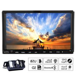 7 Inch 1 Din WinCE Car Stereo SD/USB GPS Dual-Zone Bluetooth