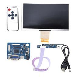 7 inch 1024*600 LCD TFT Display HDMI VGA Monitor Screen Kit