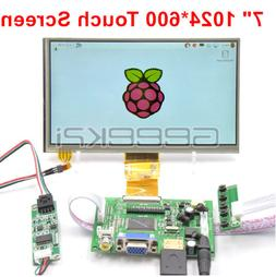 GeeekPi 7 inch 1024*600 LCD Touch Screen Display TFT for Ras