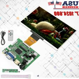 7 Inch 1024x600 For Raspberry Pi 3 b+ Screen HDMI LCD Displa