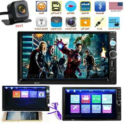 7 inch 1080p double 2din car mp5