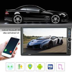7 Inch 1080P DOUBLE 2DIN HD Car MP5 Player Bluetooth Stereo