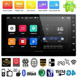 7 Inch 2 DIN Android 8.1 Car Stereo GPS Navigation Radio MP5