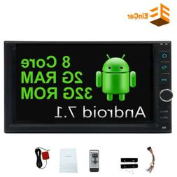 7 Inch 8CORE ROM 32G Double 2Din Android 7.1 Car Radio GPS N