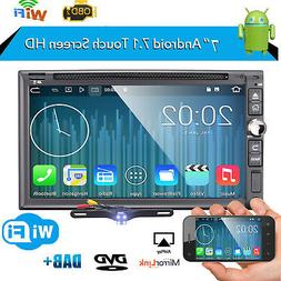 7 inch Android 7.1 4G WiFi Double 2DIN Car Radio Stereo DVD