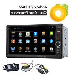7 Inch Android 8.0 2+32gb 2-Din In-Dash Unit Car Stereo Radi
