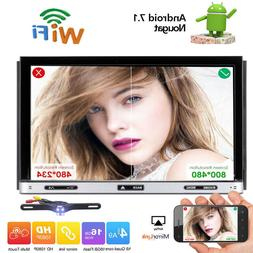 7 inch Android 8.1 4G WiFi Double 2DIN Car Radio Stereo DVD