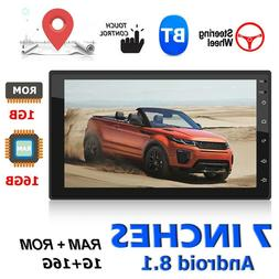 2DIN Android 8.1 Quad Core 7inch Car Stereo GPS Nav WiFi BT