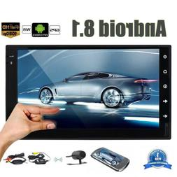 7 Inch Android 8.1 Double 2 Din Car Stereo Touchscreen AM FM