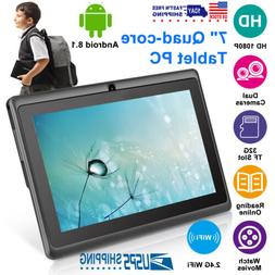 "KOCASO 7"" Inch Android 8.1 Tablet PC Quad Core 8GB HD Dual C"