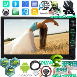 7 Inch Android Car Stereo Radio MP5 USB AUX HD Bluetooth Wif
