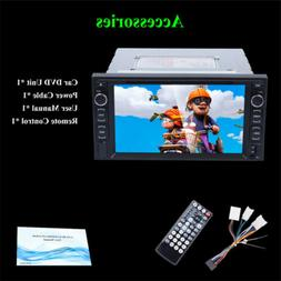 7 Inch Bluetooth Car Radio Stereo MP3 Player Double 2 DIN FM