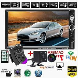 "7"" Inch Car Stereo Radio HD Mp5 Player Touch Screen Bluetoot"