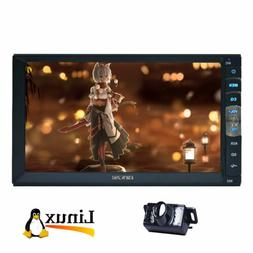"""7"""" Inch DOUBLE 2DIN Car MP5 Player BT Tou+ch Screen Stereo R"""