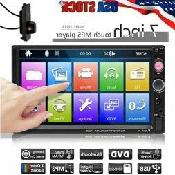 7 Inch DOUBLE 2DIN Car MP5 Player Bluetooth Tou+ch Screen St