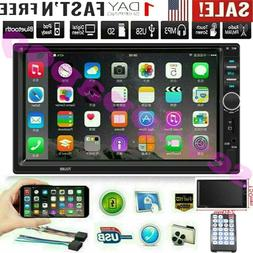 """7"""" Inch Double 7018B 2 DIN Car FM Stereo Radio MP5 Player To"""
