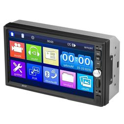 7 Inch Double 7012B 2 DIN Car FM Stereo Radio MP5 Player Tou