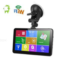 XGODY 7 inch GPS Navigation With Android OS WIFI Real-Time S