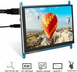 7 inch HD IPS USB Capacitive Touchscreen Display 1024*600 fo