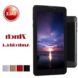 7 inch HD Tablet PC Android 4.4 Dual Core 3G WiFi 8GB Blueto