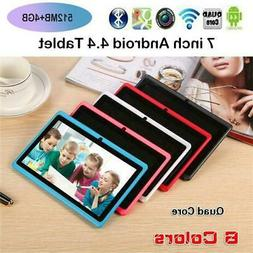7 INCH KIDS ANDROID TABLET PC QUAD CORE 4GB WIFI CHILDREN Gi