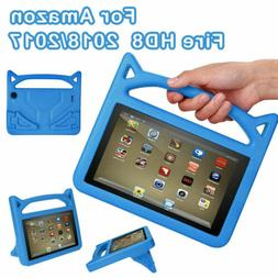 7 inch Kids EVA Handle Case Cover Stand For Amazon Fire 7 Ta