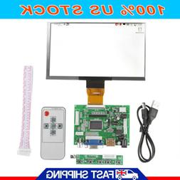 7 inch LCD 1024 * 600 for Raspberry Pi HDMI+VGA+Video AV Dri