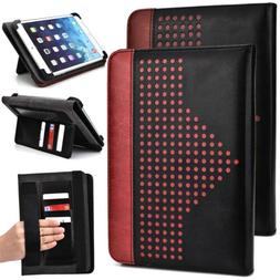 7 inch Patent Leather Protective Tablet Folding Case Cover &