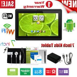 7'' INCH QUAD CORE 8GB HD TABLET FOR KIDS CHILD Android 8.1