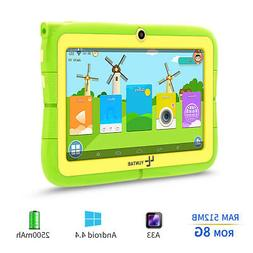 7'' inch YUNTAB Quad Core HD Tablet for Kids 4.4 KitKat Dual
