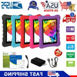 "7"" inch Quad Core HD Tablet PC for Kids Android 4.4  8GB WIF"